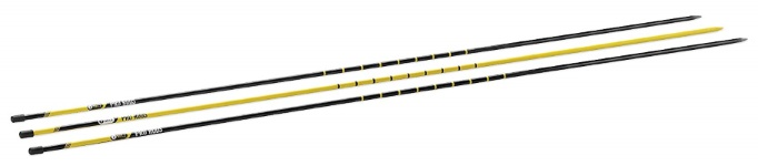 SKLZ Pro Rods Golf Trainer - 3-Rod Alignment Set