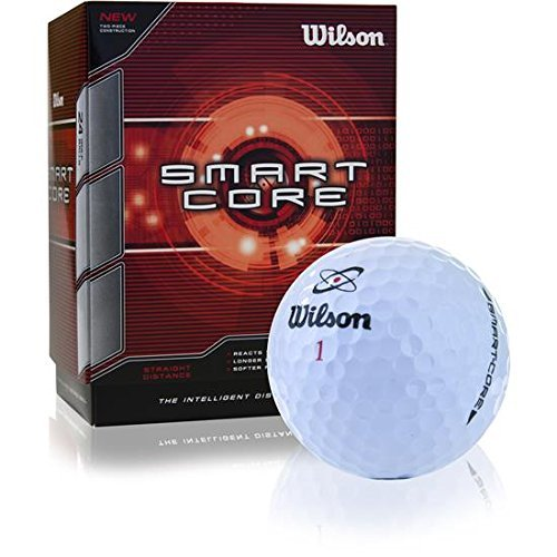 Wilson Smart Core Golf Ball - Pack of 24 (White)