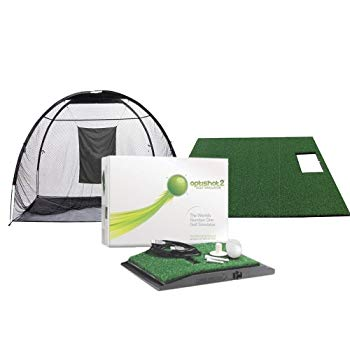 OptiShot Golf OptiShot 2 Golf In a Box (Includes Net, and Stance Mat)