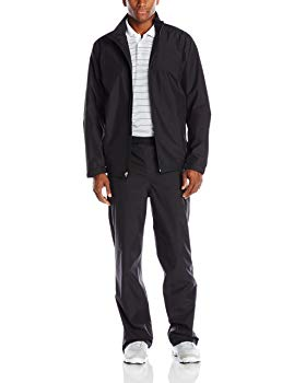 Nike Men's Storm-Fit Golf Rain Suit (Small, Black)
