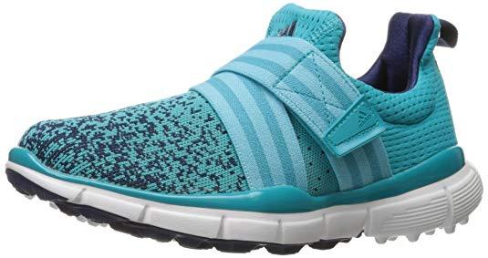 adidas Women's W Climacool Knit Eneblu/B Golf Shoe