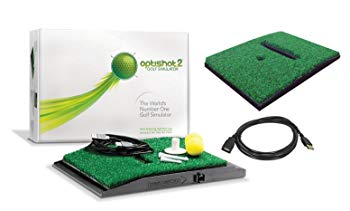 OptiShot 2 Golf Simulator (Mac & PC) Bundle | Includes Extra Replacement Turf and 15ft USB Extension Cable Color:Bundle