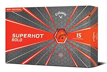 Callaway 2018 Superhot Golf Balls (Pack of 15), Orange
