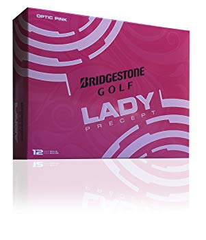 Bridgestone Golf 2015 Lady Precept Golf Balls (Pack of 12), Pink