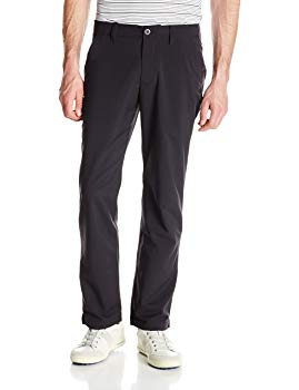 Under Armour Men's Match Play Golf Pants, Black /Black, 28/30