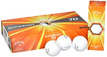 Callaway 2017 Superhot 70 Golf Balls (Pack of 15) White